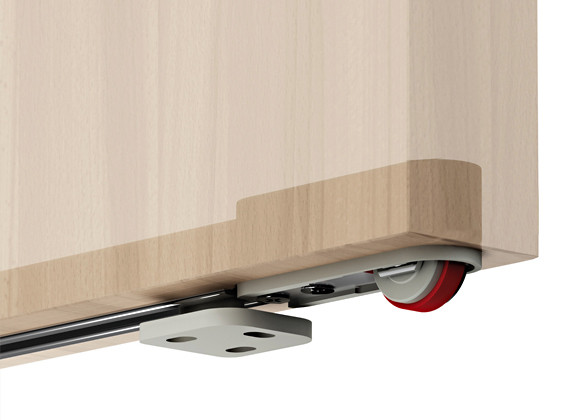 magic kits for internal sliding door invisible track to 80kg